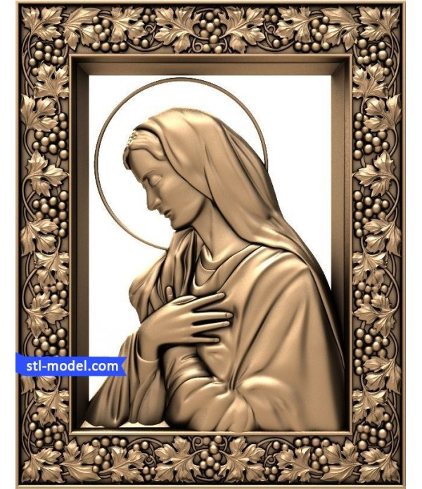 """Icon """"Holy Madonna"""" 