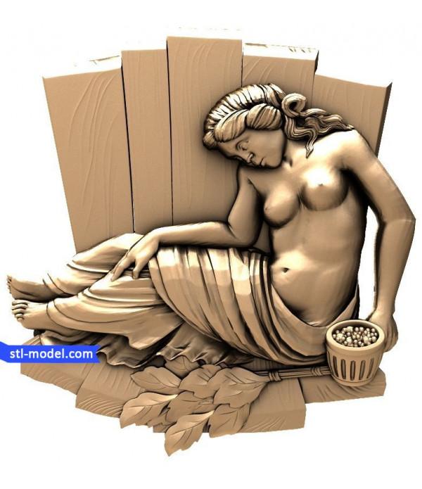 "Bath ""Bath #20"" | STL - 3D model for CNC"