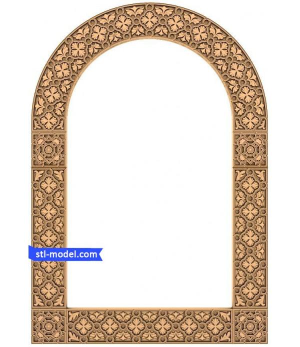 "Frame ""Frame #30"" | STL - 3D model for CNC"