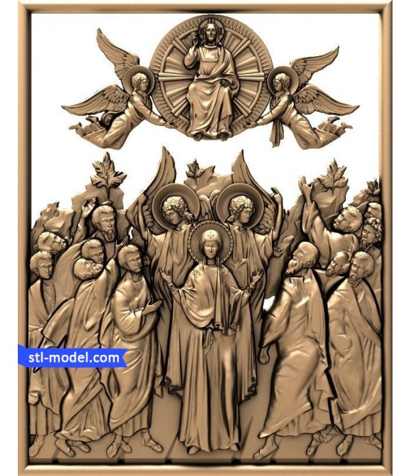 "Icon ""Cathedral of the new martyrs #2"" 
