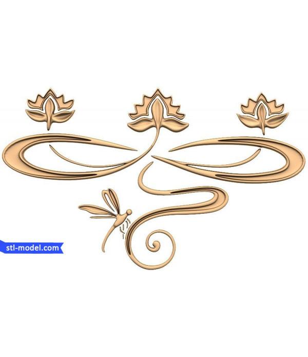 "Decor ""decor #166"" | STL - 3D model for CNC"