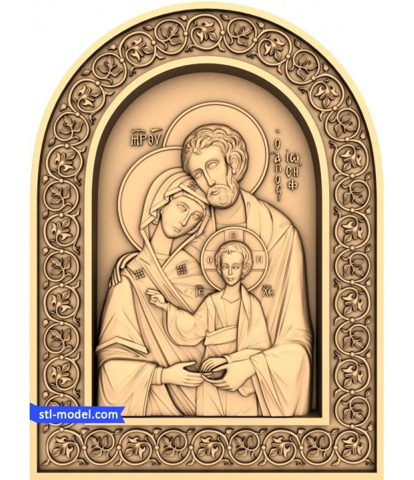 """Icon """"Holy Family #2"""" 