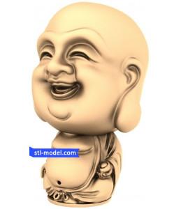 Buddha with a big head