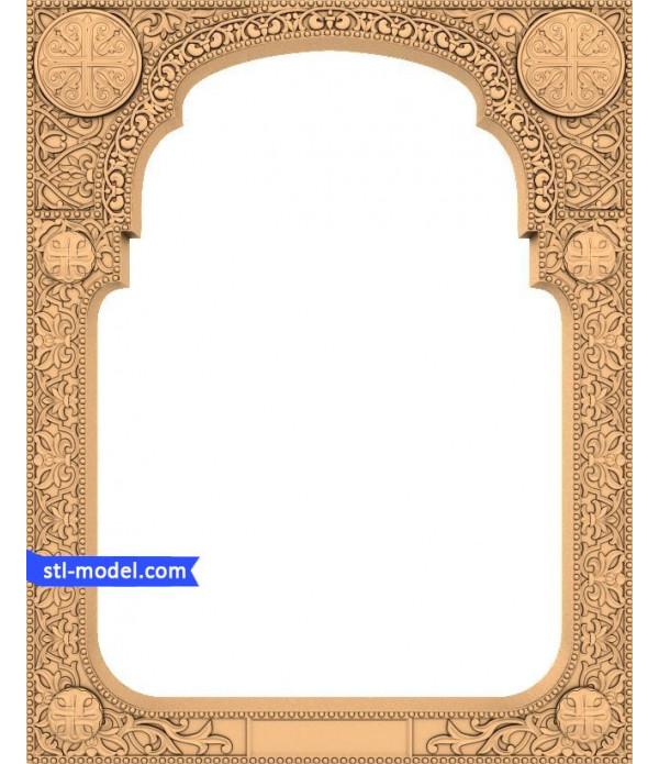 "Frame ""Frame #31""   STL - 3D model for CNC"
