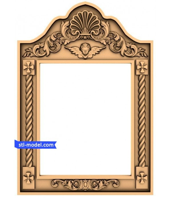 "Frame ""Frame #66"" | STL - 3D model for CNC"
