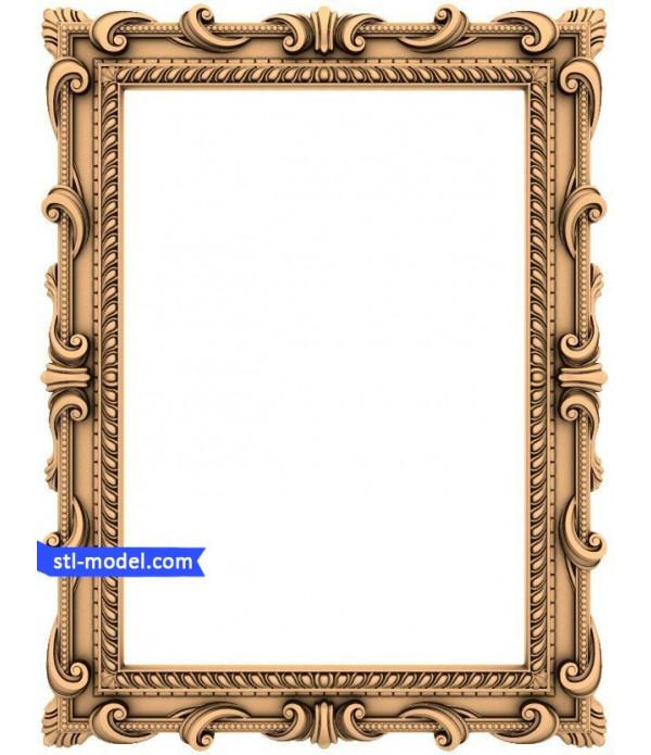 "Frame ""Frame #15"" | STL - 3D model for CNC"