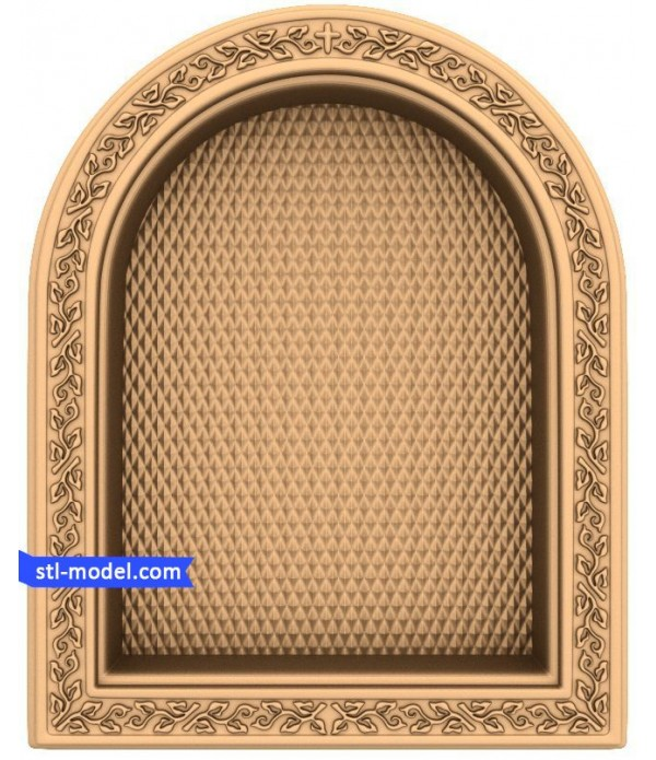 "Frame ""Frame #76"" | STL - 3D model for CNC"