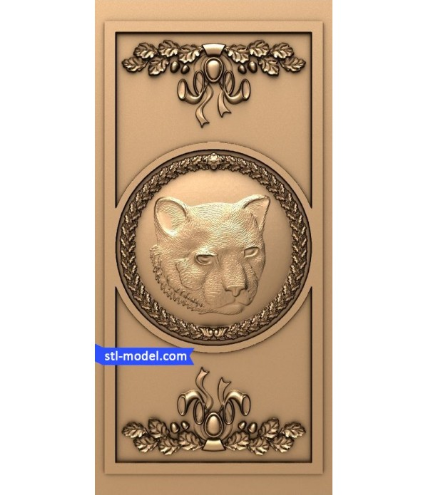 "Bas-relief ""Tiger"" 