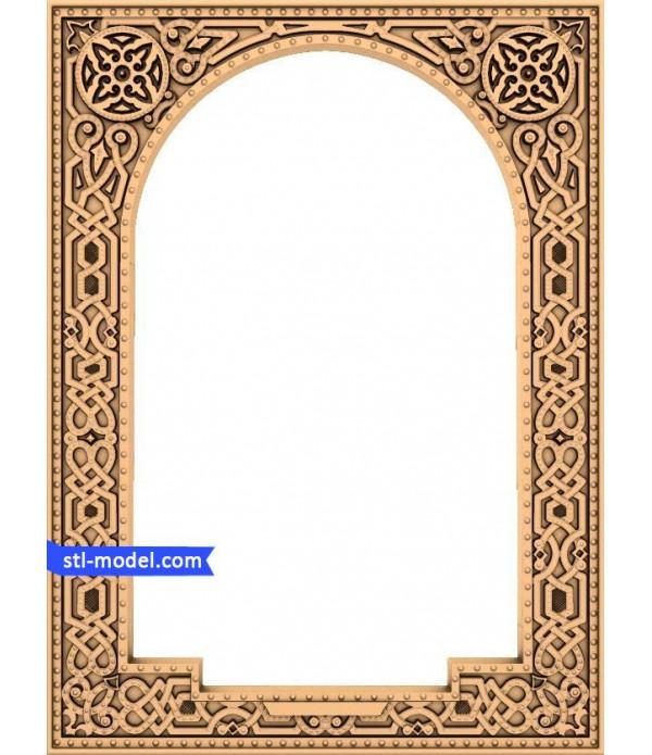 "Frame ""Frame #1"" | STL - 3D model for CNC"