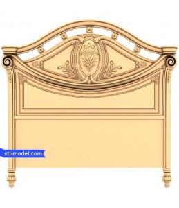 """Furniture """"Bed #12 (Back #1)"""" ..."""