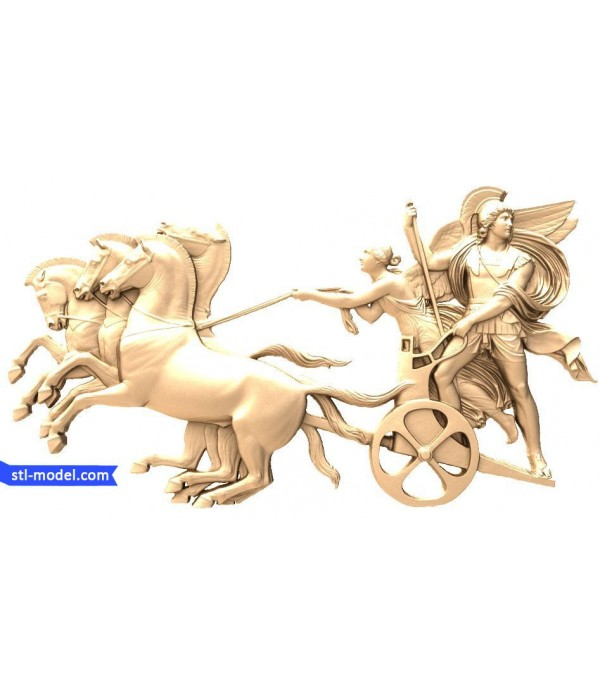 "Bas-relief ""Bas-relief #9"" | STL - 3D model for CNC"