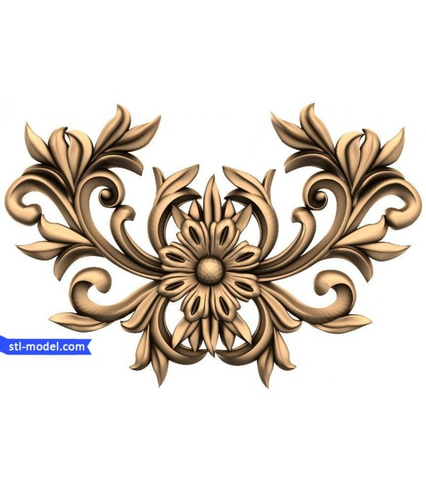 "Decor ""decor #23"" | STL - 3D model for CNC"