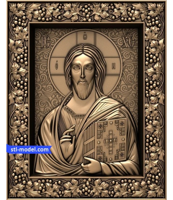 "Icon ""Christ Pantocrator"" 