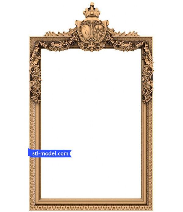 "Frame ""Frame #17"" | STL - 3D model for CNC"