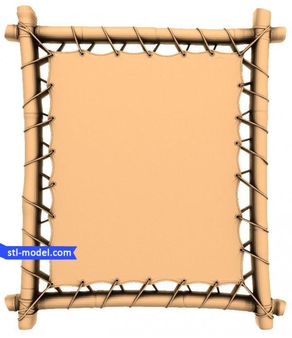 "Frame ""Frame #46"" | STL - 3D model for CNC"