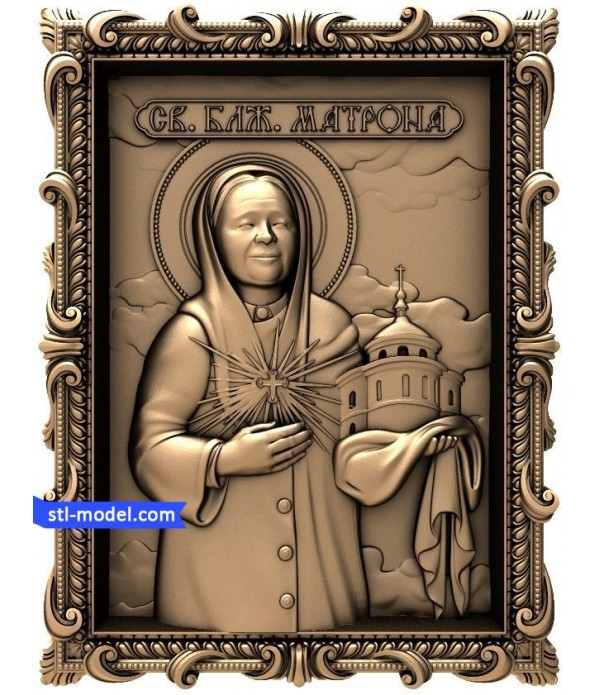 "Icon ""St. Matrona #4"" 