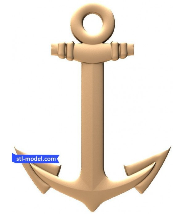 """Bas-relief """"Anchor"""" 