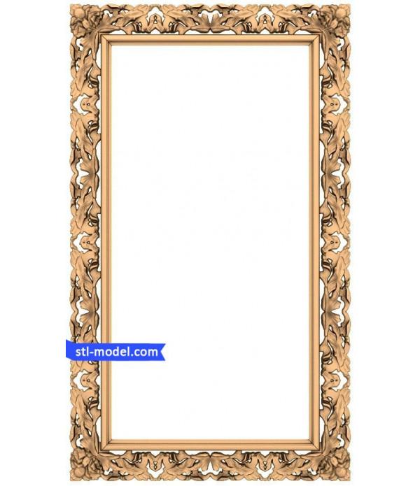 "Frame ""Frame #40"" | 3D STL model for CNC"