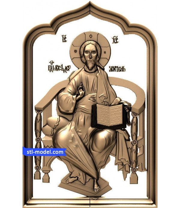 """Icon """"Lord Almighty #7""""   STL - 3D model for CNC"""