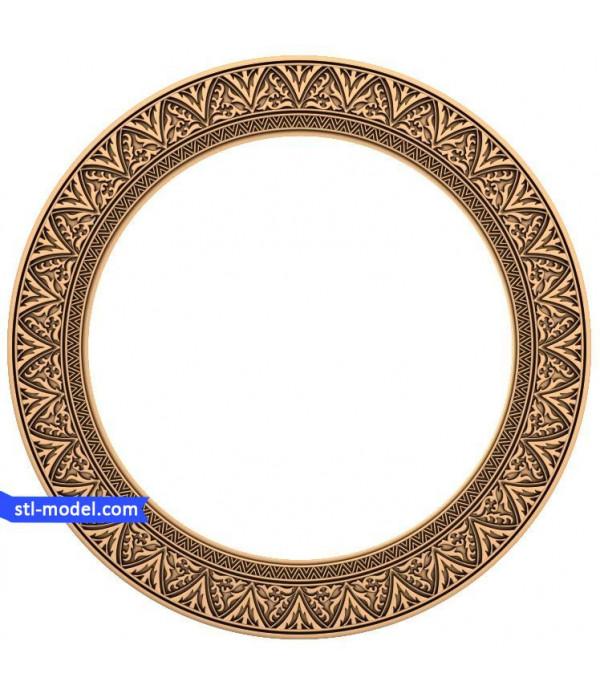 "Frame ""Frame #72"" | STL - 3D model for CNC"