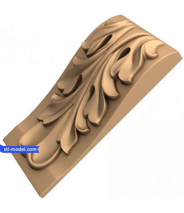 "Corbel ""Corbel #33""   STL - 3D model for CNC"