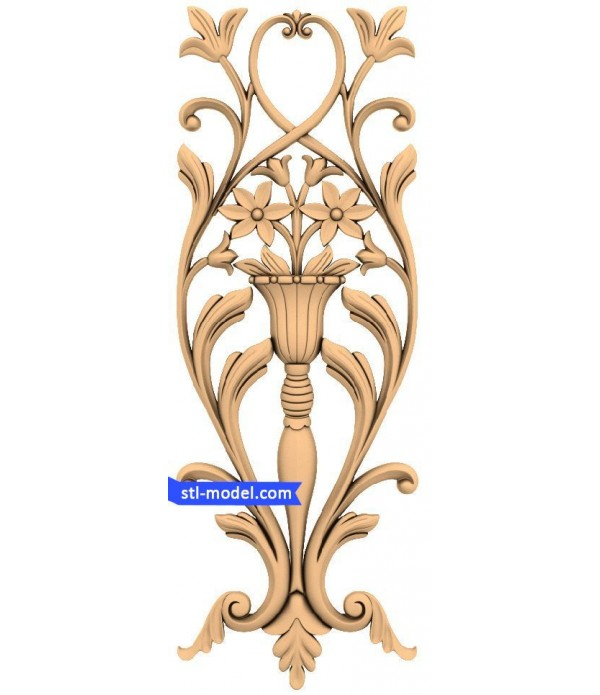 "Decor ""decor #358"" | STL - 3D model for CNC"