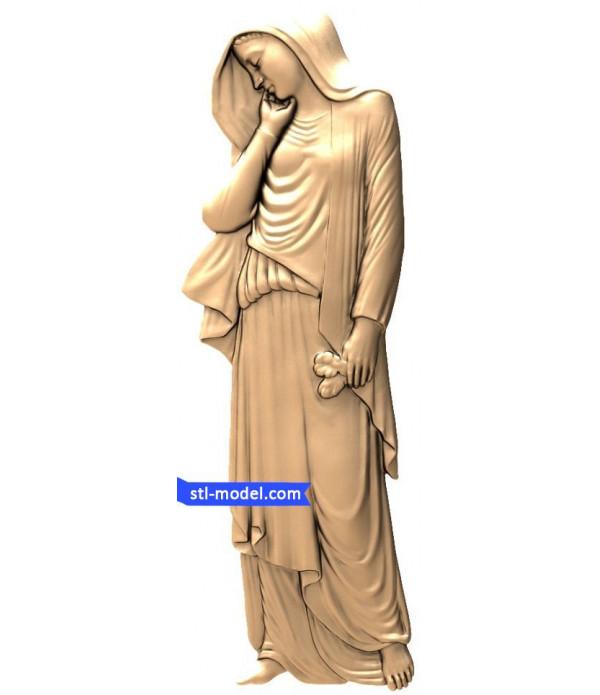 "Angel ""Angel #19"" | STL - 3D model for CNC"