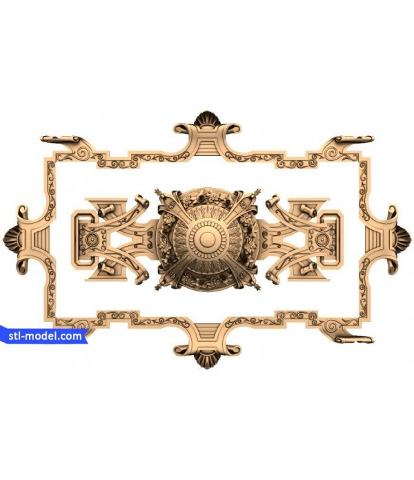 "Decor ""decor #44"" | STL - 3D model for CNC"