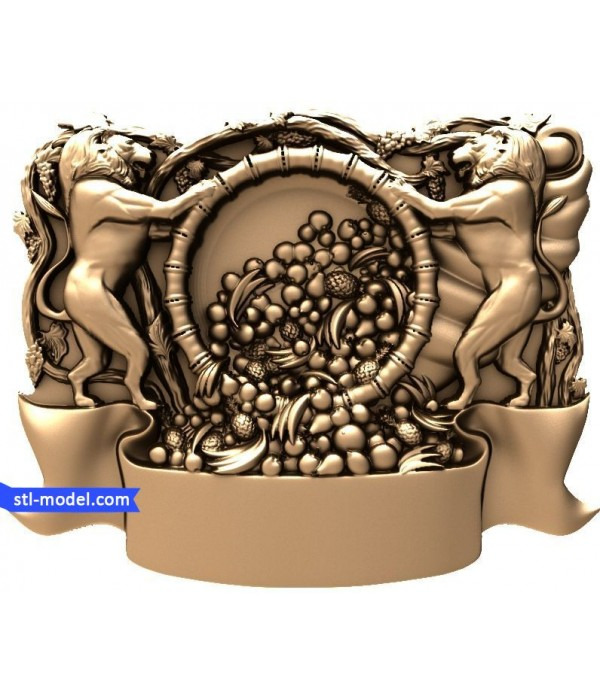 "Bas-relief ""Bas-relief #36"" | STL - 3D model for CNC"