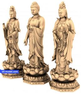 Buddha and bodhisattva-Buddha and bodhis...