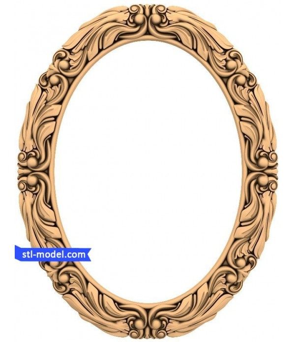 "Frame ""Frame #16"" | STL - 3D model for CNC"