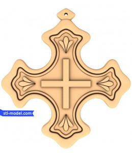 "Cross ""Cross #16"" | STL - 3D m..."