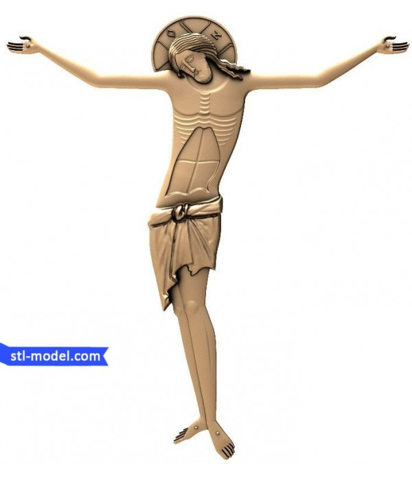 """Icon """"Crucifixion #1"""" 
