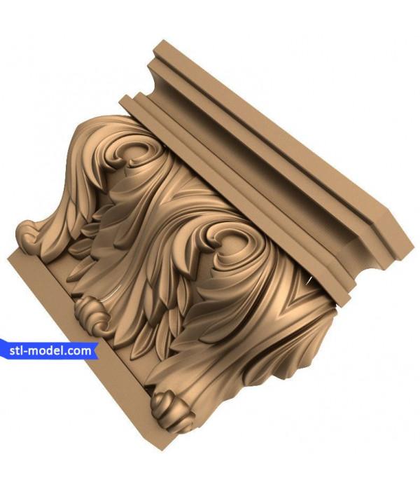 "Corbel ""Corbel #29"" | STL - 3D model for CNC"