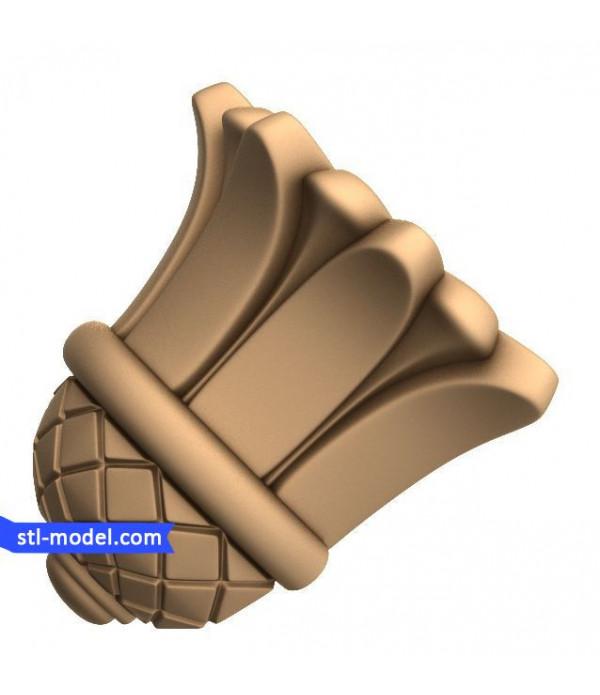 "Corbel ""Corbel #45"" | STL - 3D model for CNC"