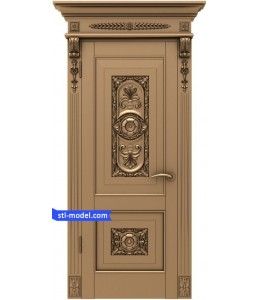 """Door """"Door #6""""   STL - 3D mode..."""