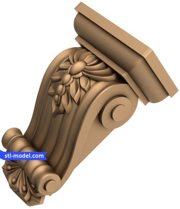 "Corbel ""Corbel #77"" | STL - 3D model for CNC"