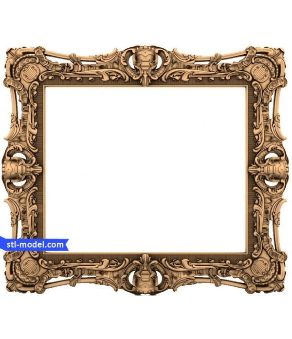 "Frame ""Frame #115"" | STL - 3D model for CNC"