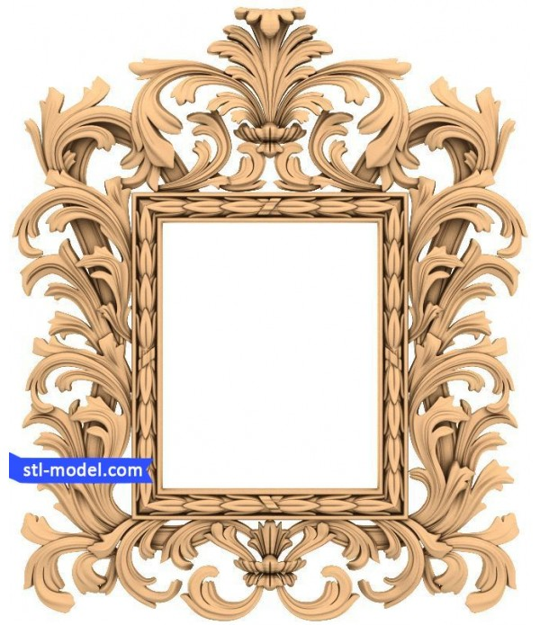 "Frame ""Frame #70"" | STL - 3D model for CNC"