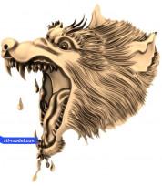 Wolf head (7)