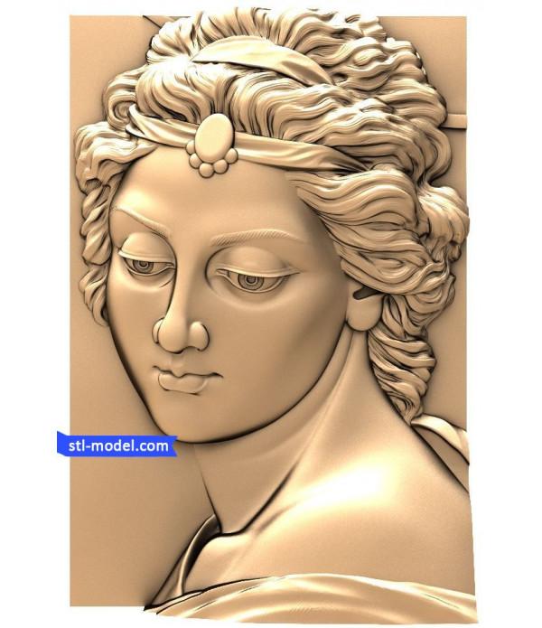 "Angel ""Angel #15"" | STL - 3D model for CNC"
