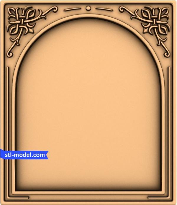 "Frame ""Frame #8"" | STL - 3D model for CNC"
