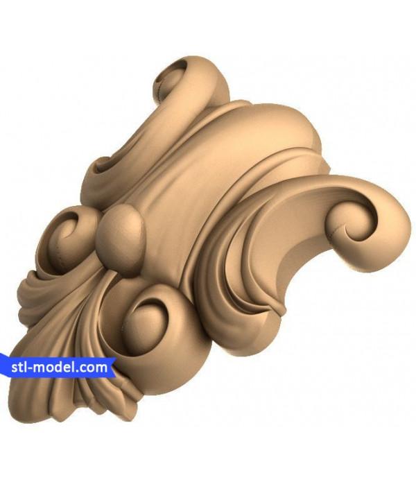 "Corbel ""Corbel #74"" | STL - 3D model for CNC"