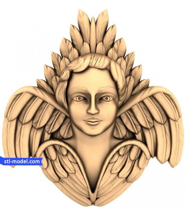 "Angel ""Angel #39"" | STL - 3D model for CNC"