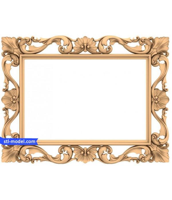 "Frame ""Frame #168""   STL - 3D model for CNC"
