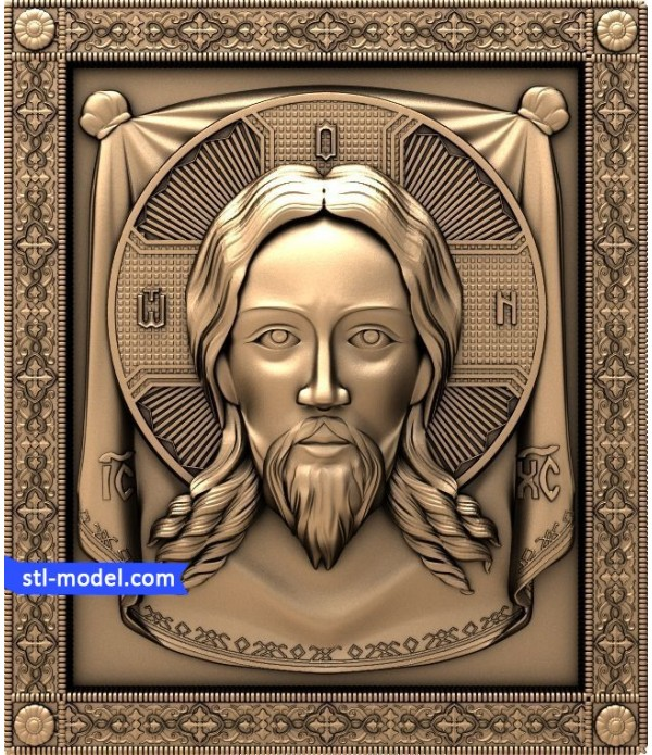 "Icon ""Holy face #2"" 