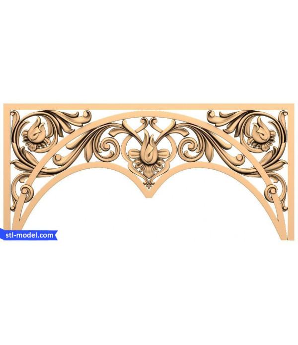 "Decor ""decor #55"" | 3D STL model for CNC"