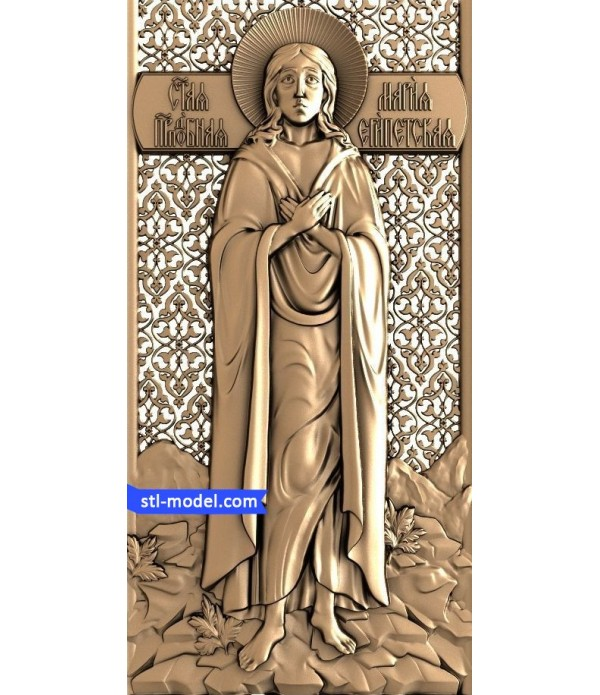 "Icon ""Holy Mary of Egypt"" 