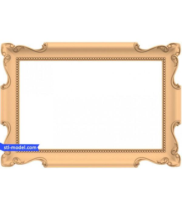"Frame ""Frame #164"" | STL - 3D model for CNC"