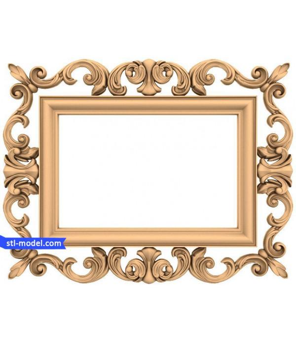 "Frame ""Frame #178"" | STL - 3D model for CNC"